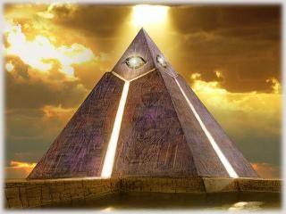 Пирамида и НЛО