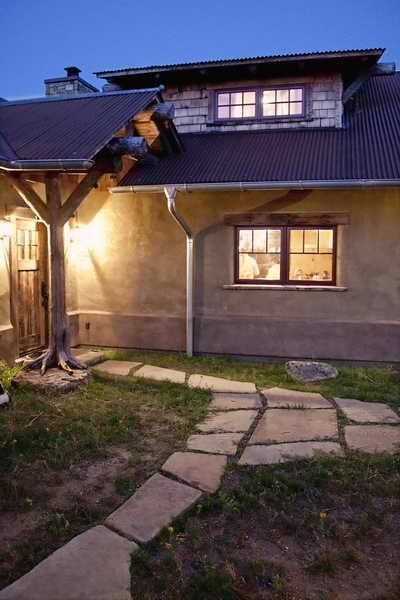 Американские дома из соломы - Автор неизвестен