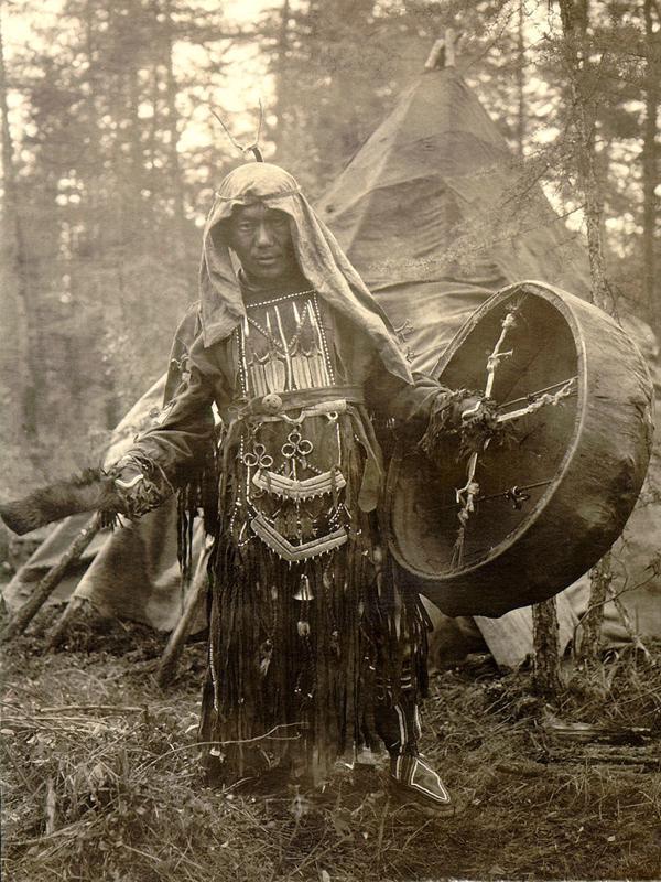 Шаманские магические обряды - Эвенкия