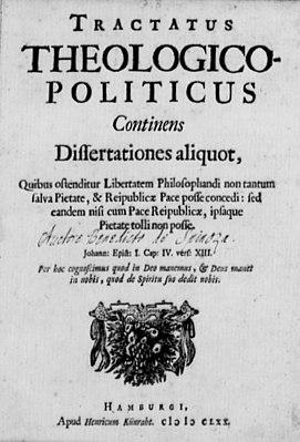 Богословско-политический трактат - Спиноза Барух