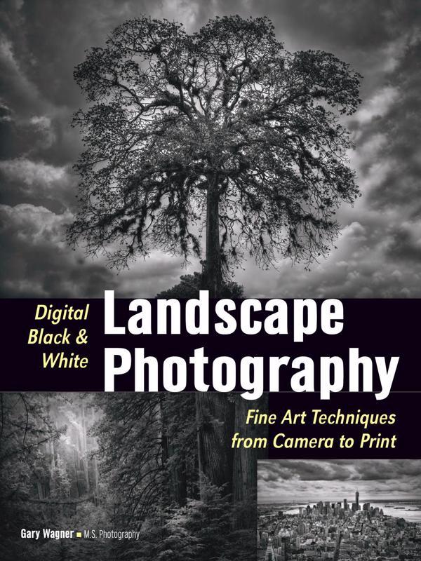 Цифровая черно-белая пейзажная фотография - Вагнер Гари